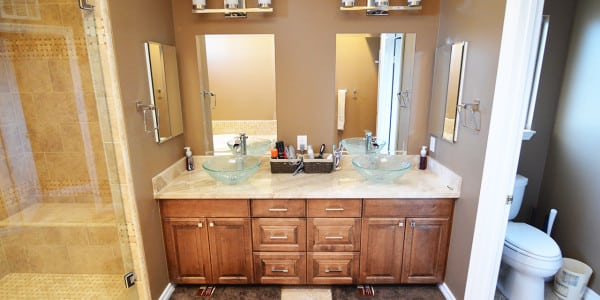 Brea Traditional Master Bathroom Remodel - 2