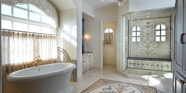 Luxury-Bathroom-with-Custom-Mosaic-Design