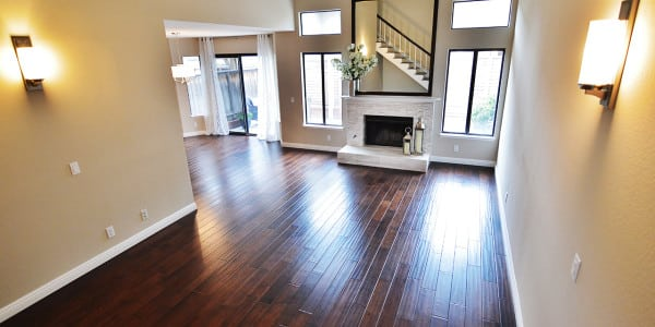 Glendora Contemporary Espresso Hardwood Flooring - 2