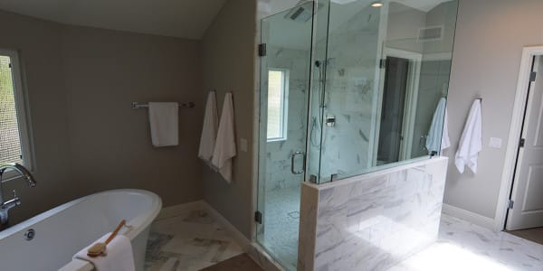 Laguna Beach Eclectic Bathroom Remodel - 1