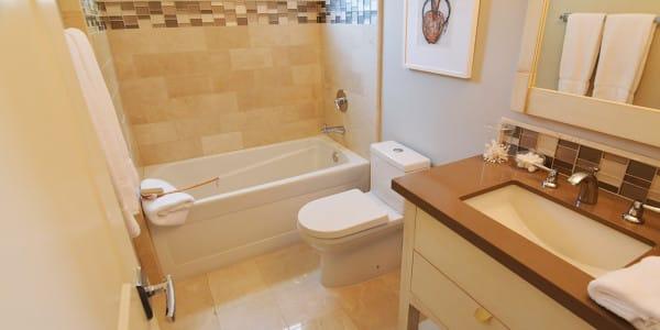 Laguna Beach Eclectic Guest Bathroom Remodel - 2
