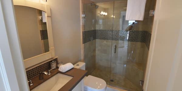 Laguna Beach Eclectic Guest Bathroom Remodel - 3