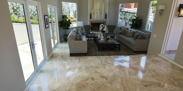 Laguna Beach Marble Floor Remodel - 1