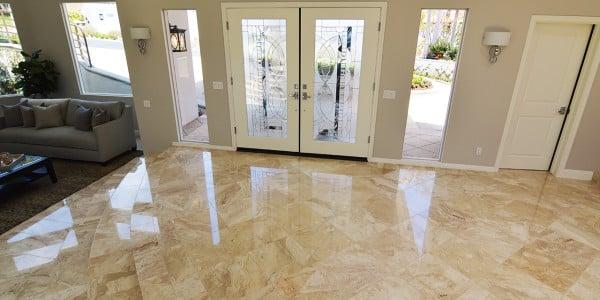 Laguna Beach Marble Floor Remodel - 2