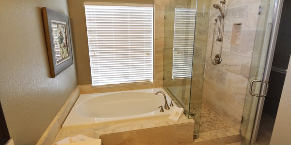 Upland Eclectic Bathroom Remodel - 3