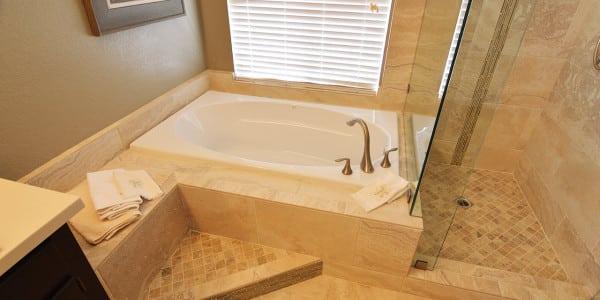 Upland Eclectic Bathroom Remodel - 4