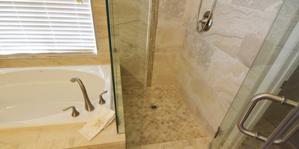 Upland Eclectic Bathroom Remodel - 6