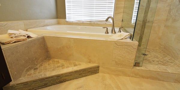 Upland Eclectic Bathroom Remodel - 7